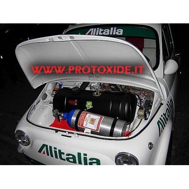 Kit a protossido d'azoto per Vecchia 500 2 cilindri carburatore Kit Protossido Auto Benzina e Diesel