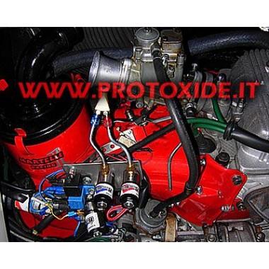Udstødningsmanifold centrale Lancia Delta med att. wastegate Auto Bensin og Diesel Outer Oxid Kit