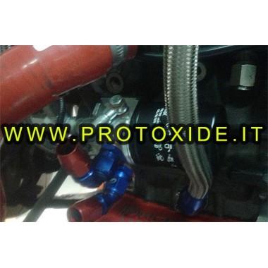 KIT Adapter spezifische Ölkühler Fiat Abarth 1400 t-jet passen Unterstützt Ölfilter und Ölkühler Zubehör