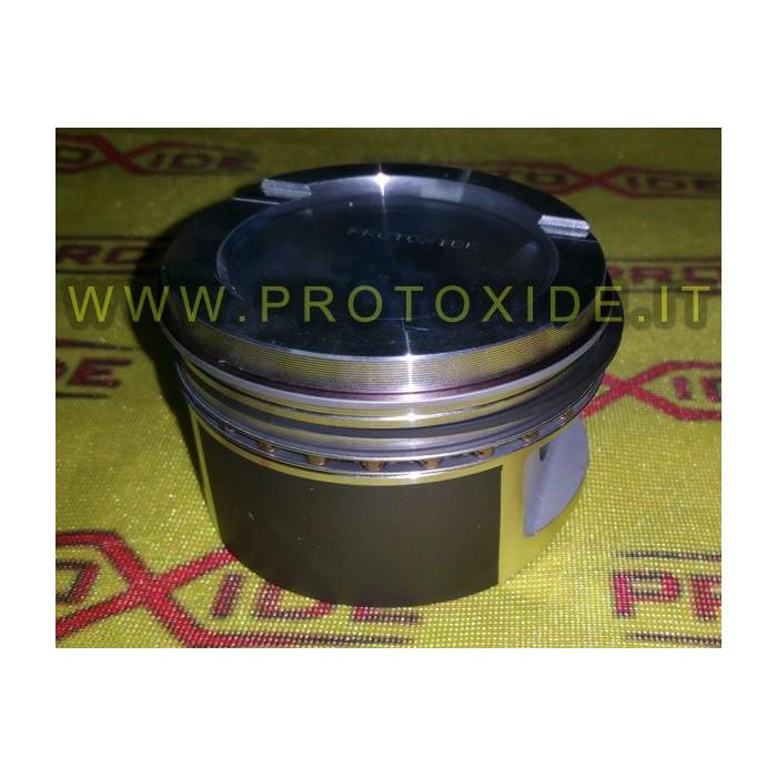 Pistoni stampati decompressi per trasformazione motore Turbo FIRE 1.100-1.200 8V Pistoni Forgiati Auto