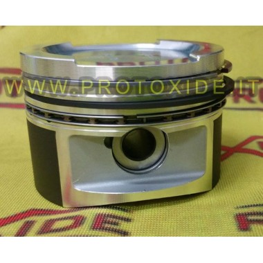 בוכנות ביטול דחיסה עבור טורבו מנוע 1100-1200 FIRE 8V מזויפים אוטומטי בוכנות