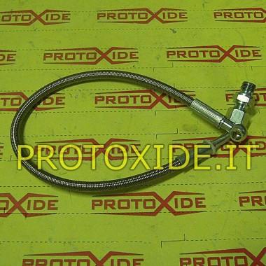 Olejová hadica v kovovej vložke pre Renault 5 GT pre originálne turbo Olejové potrubia a armatúry pre turbodúchadlá