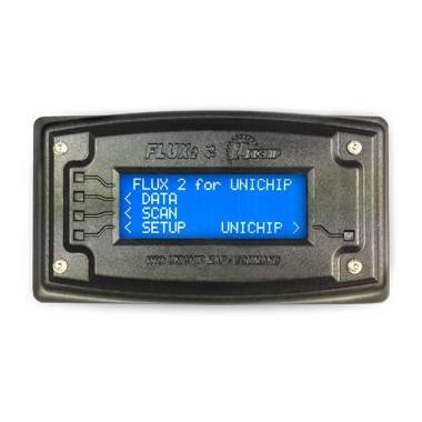 Afficher unités Unichip avec des cartes de sélection et de diagnostic OBD2 Unichip Unités de contrôle, modules et câblage