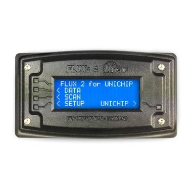 Display Unichip enheder med selector kort og diagnose OBD2 Unichip Control Units, moduler og ledninger