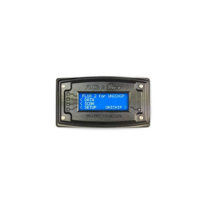 Pantalla para unidades de control Unichip con selector de mapas y diagnóstico OBD2 Unichip Control Units, Módulos y Cableado