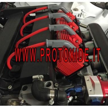 Bobină roșie îmbunătățită cu conexiune masculină UPS-uri și bobine amplificate