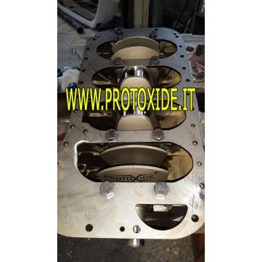 Placa de refuerzo debajo del bloque motor Lancia Delta Soportes reforzados, palancas de cambio