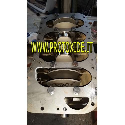 Reinforcement engine plate Lancia Delta CRANKSHAFT GIRDLE Reinforced supports, gear levers