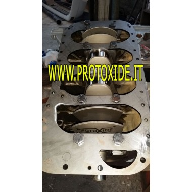 Albero motore Lancia Delta 2000 in acciaio ad 8 contrappesi corsa 90mm Alberi Motore