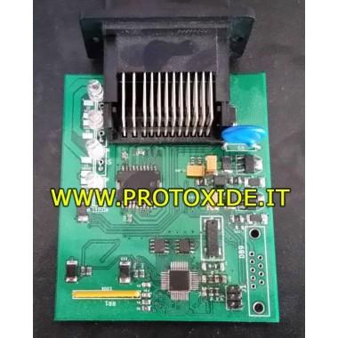 Interfeisa vadības modulis, lai pārvaldītu dzinēja elektronisko droseli Programmējamie vadības bloki