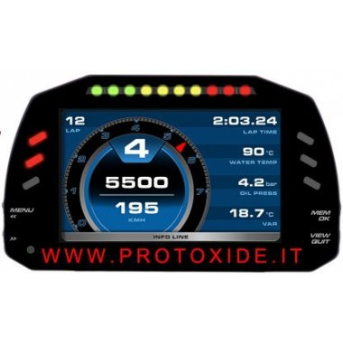 Digital dashboard for cars and motorcycles