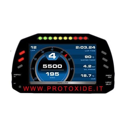 Cruscotto digitale per auto e moto 5 pollici display S 1.2 Cruscotti Digitali