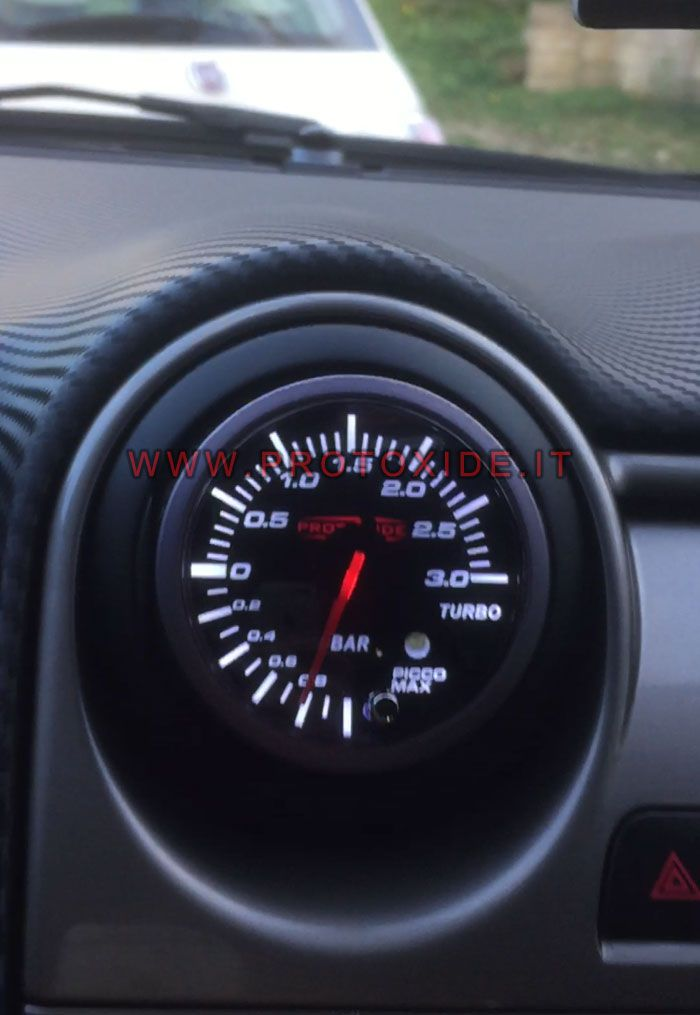 Boquilla Turbo De Protoxide La En Presión Alfa Mito Manómetro Instalado 9DIEH2