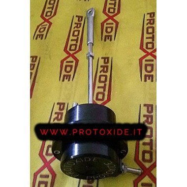 Wastegate specifica Opel Mokka 1400 alluminio regolabile nera Wastegate interne
