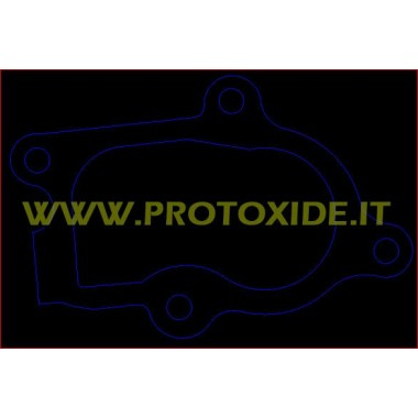 Interflange uitlaatbuis Gt voor de installatie Holset HX25W HX27W Flenzen voor Turbo, Downpipe en Wastegate