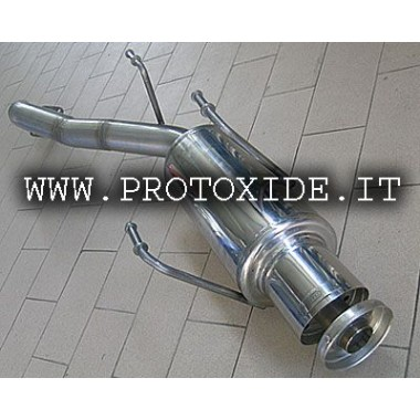 exhaust end muffler for Toyota Celica GT turbo four 2,000