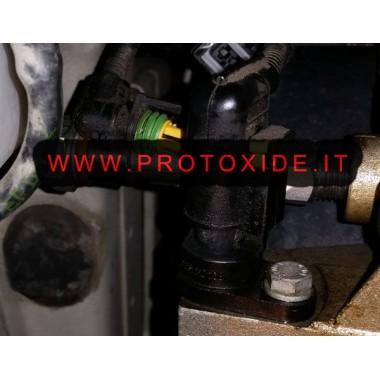 Raccordo adattatore T per installazione sensore pressione olio motori fiat 500 Abarth Manometri pressione Turbo, Benzina, Olio
