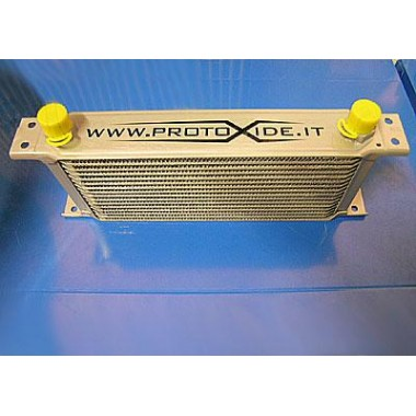 7-row oil cooler Bigger oil coolers