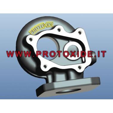 Mini R56 Peugeot 207 RCZ Citroen için spiral GTO 262 boşaltma Özel turbo deşarj fındık