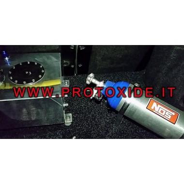 10 liter brændstoftank med niveaufølerhætte Bade for olie- og brændstoftanke