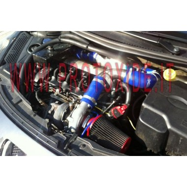 Air-to-water intercooler kit for the Abarth Grandepunto - T-jet