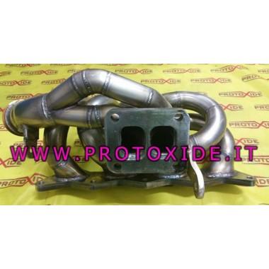 סעפת פליטה פלדה עם טורבו לנצ'יה דלתא 2000 טורבו בורג וורנר פלדה סעפת עבור מנועי טורבו בנזין
