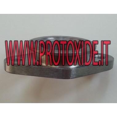 Angepasster Wastegate 38 oval mit Wastegate MVR Flansche für Turbo, Downpipe und Wastegate