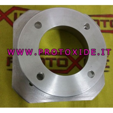 Increased throttle body flange for abarth aluminum engines
