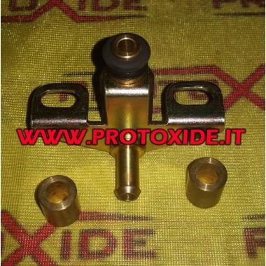 Adattatore flauto per regolatore pressione benzina esterno Rover v8 specifico
