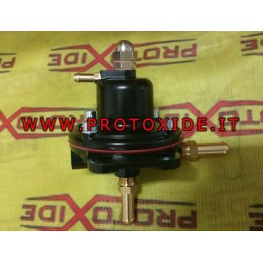 Regolatore pressione benzina per motori a Carburatore
