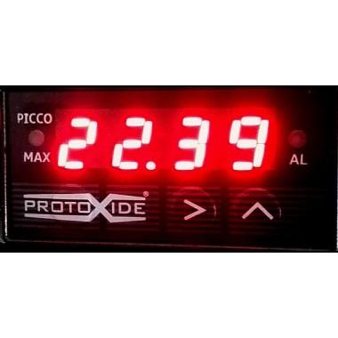 Misuratore KIT temperatura acqua-olio COMPATTO con comando ventola