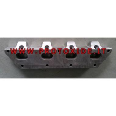 Flangia collettore aspirazione Fiat 1.400 16v 500 Abarth Panda alluminio Flange collettori di aspirazione