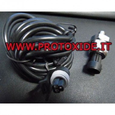 Sensor de presión 0-10 bar Salida de 0-5 voltios Fuente de alimentación de 5 voltios Los sensores de presión