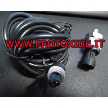 Spiediena sensora 0-6 bar barošana 5 voltu izeja 0-5 volti spiediena sensori