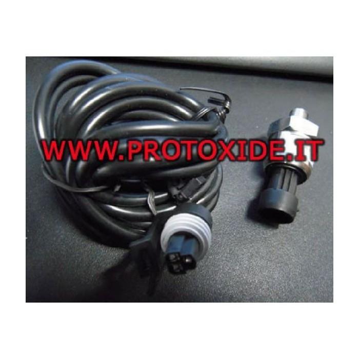Druksensor 0-10 bar alim.12 volt