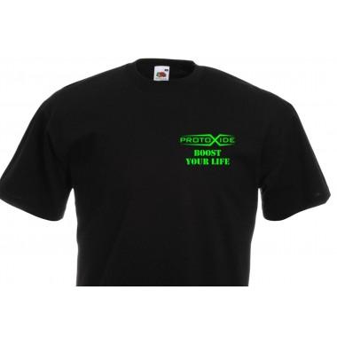חולצת טריקו פרוטוקסייד שחור גאדג'ט ProtoXide