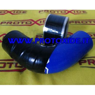 Nastro siliconico adesivo per cambio colorazione manicotti in silicone colore Nero Rosso Blu Bende e Protezioni calore