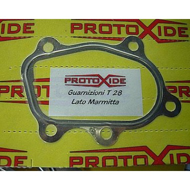 Gto221 gasket for turbo muffler downpipe