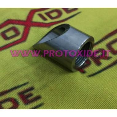 ラムダプローブ傾斜カットブッシングの接続 センサ、熱電対、ラムダプローブ