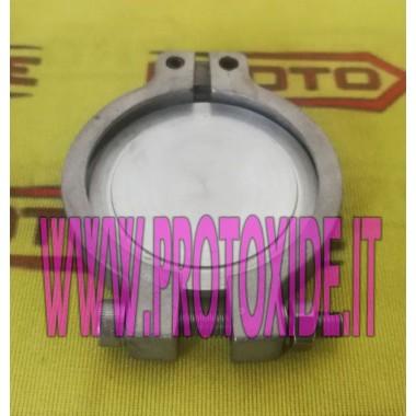 Tappo per chiudere foro collettore wastegate esterna Tial con fascetta v-band Fascette e anelli V-Band