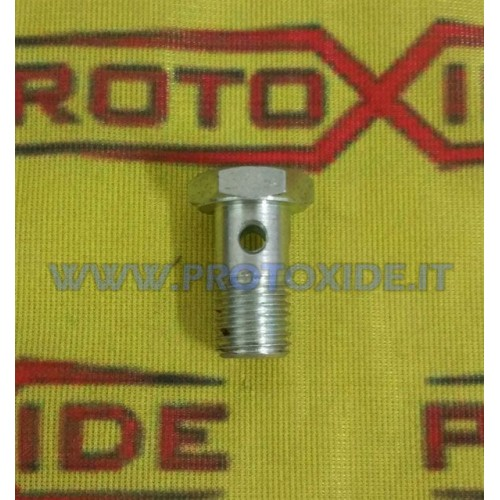 12x1.5 drilled screw for the turbocharger oil inlet without filter