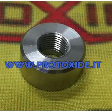 Edelstahl-Nippelverschraubung für 1/8 Npt-Thermoelement-Nippel Sensoren, Thermoelemente, Lambdasonden