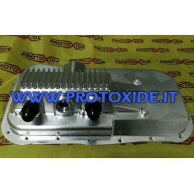 CNC klikové skříně pro Lancia Delta Coupe 16v Q4 suchý karter Vodní radiátory, olej, média, ventilátory a pánve