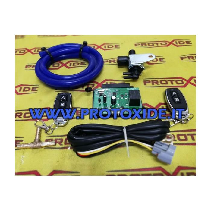 Kit wireless per impianti scarico con modulo e attuatore