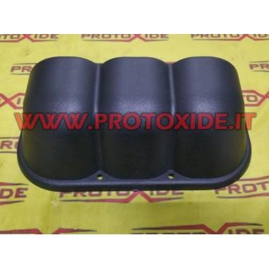 Instrument holder 3 horizontal positions guilded Instrument holders and frames for instruments