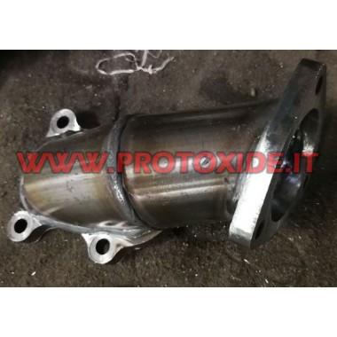 Mitsubishi TD04 Stahlauspuffrohr für Fiat Punto Gt und Fiat Uno Turbo 1400 Downpipe for gasoline engine turbo
