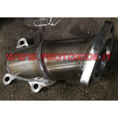 Mitsubishi TD04 steel exhaust downpipe for Fiat Punto Gt and Fiat Uno Turbo 1400 Downpipe for gasoline engine turbo