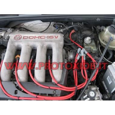 Cavi candela Volkswagen Golf 3 2000 16V alta coducibilità rossi Cavi Candela specifici x auto