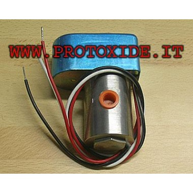 Remote opening cylinder valve for closing nitrous Spare parts for nitrous oxide systems