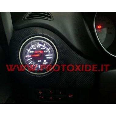 Turbo Grandepunto EVO Multiair 1.4 Manomètre Turbo dans la buse Manomètres Turbo, Essence, Huile